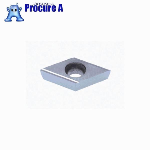 タンガロイ 旋削用G級ポジTACチップ CMT DCGT11T301FR-J10 NS9530 10個▼708-5044 (株)タンガロイ