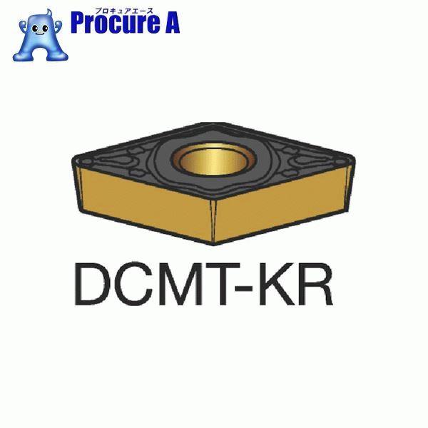 サンドビック コロターン107 旋削用ポジ・チップ 3210 COAT DCMT 11 T3 12-KR 3210 10個▼619-0871 サンドビック(株)コロマントカンパニー