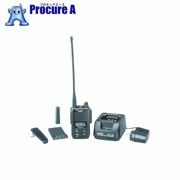 アルインコ デジタル登録局無線機1Wタイプ薄型セット DJDP10A ▼385-3730 アルインコ(株) 電子事業部