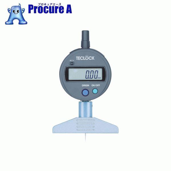 テクロック デジタルデプスゲージ DMD-210S2 ▼451-4882 (株)テクロック