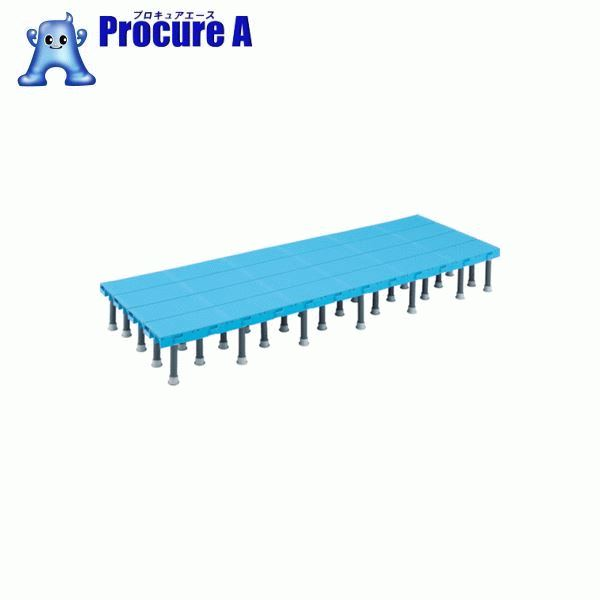 TRUSCO 樹脂ステップ高さ調節式600X1200 H200-220 DS-6012H ▼416-3541 トラスコ中山(株)