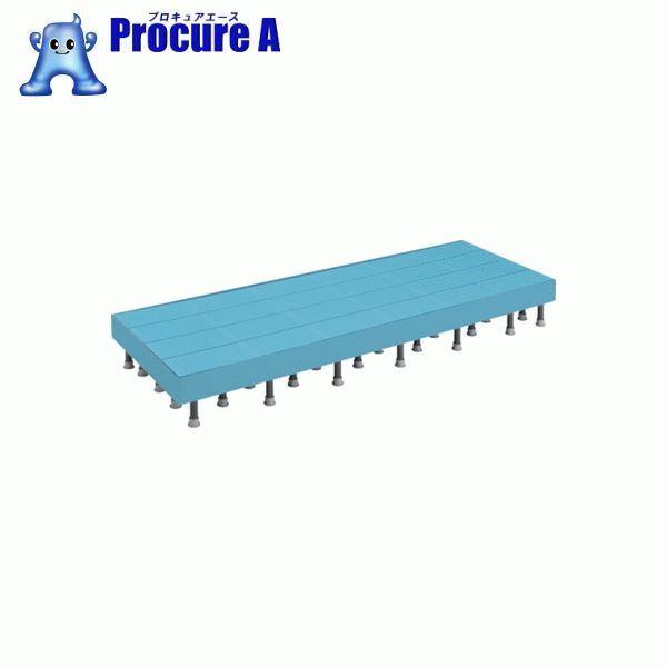 TRUSCO 樹脂ステップ高さ調節式側板付600X900 H200-220 DS-6090HG ▼416-3648 トラスコ中山(株)