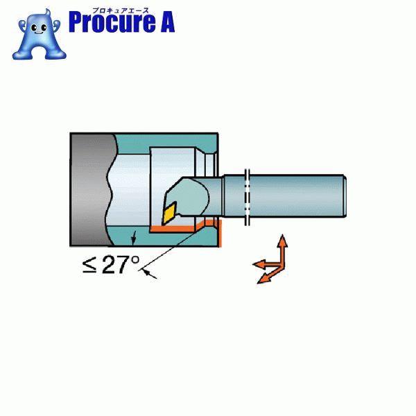 サンドビック コロターン107 ポジチップ用超硬ボーリングバイト E20S-SDUCR 11-R ▼604-9753 サンドビック(株)コロマントカンパニー