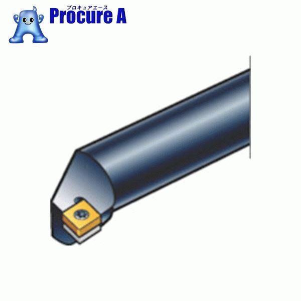 サンドビック コロターン107 ポジチップ用超硬ボーリングバイト E25T-SCLCR 09-R ▼604-9796 サンドビック(株)コロマントカンパニー