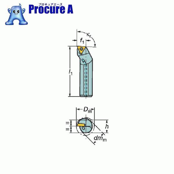サンドビック コロターン107 ポジチップ用超硬ボーリングバイト E25T-STFCR 16-R ▼604-9851 サンドビック(株)コロマントカンパニー