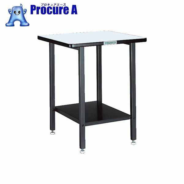 TRUSCO ELS型補助テーブル 500X500X600 アジャスター付 ELS-500 ▼500-8395 トラスコ中山(株)