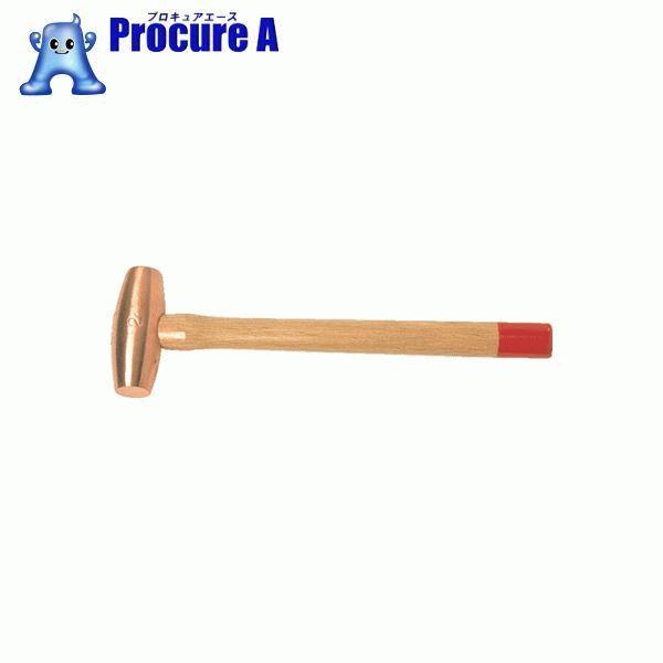 フンドウ 銅ハンマー#8 FH-80 ▼123-6113 三和金属工業所