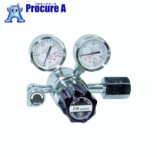 ヤマト 分析機用二段圧力調整器 FR-1B FR1BTRC12 ▼434-4600 ヤマト産業(株)