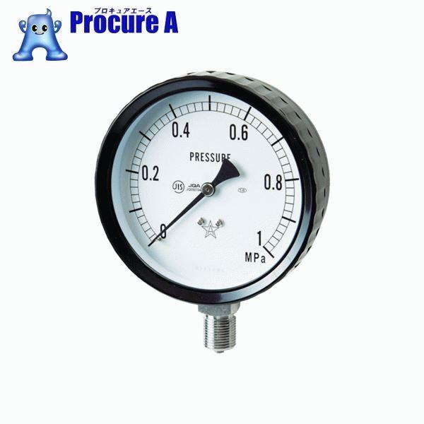 右下 ステンレス圧力計 G411-261-0.1MP ▼332-8147 右下精器製造(株)