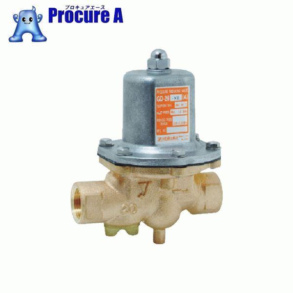 ヨシタケ 水用減圧弁 二次側圧力(A) 25A GD-26-NE-A-25A ▼431-4832 (株)ヨシタケ