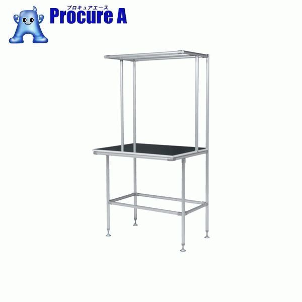 SUS セル生産作業台 棚板・作業ボードあり GFTR2880010 ▼456-5711 SUS(株) 【代引決済不可】【送料都度見積】