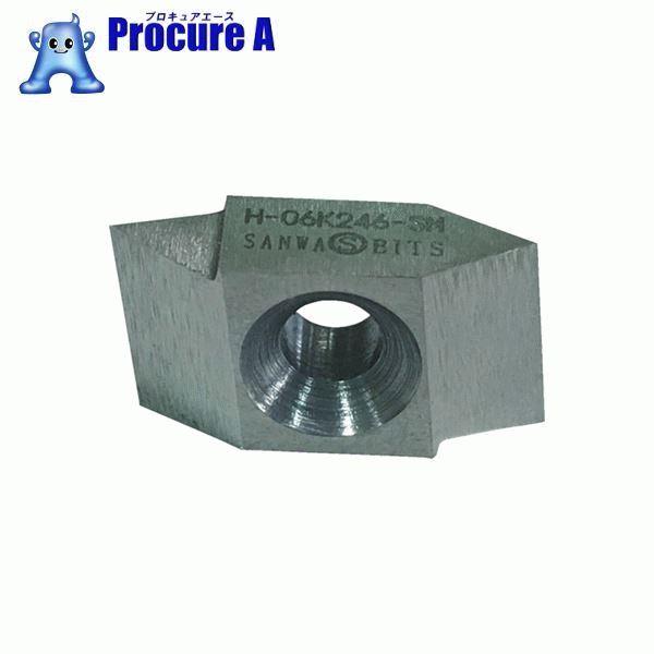 三和 ネジ切チップ H-06K246-SM 10個▼485-9855 (株)三和製作所