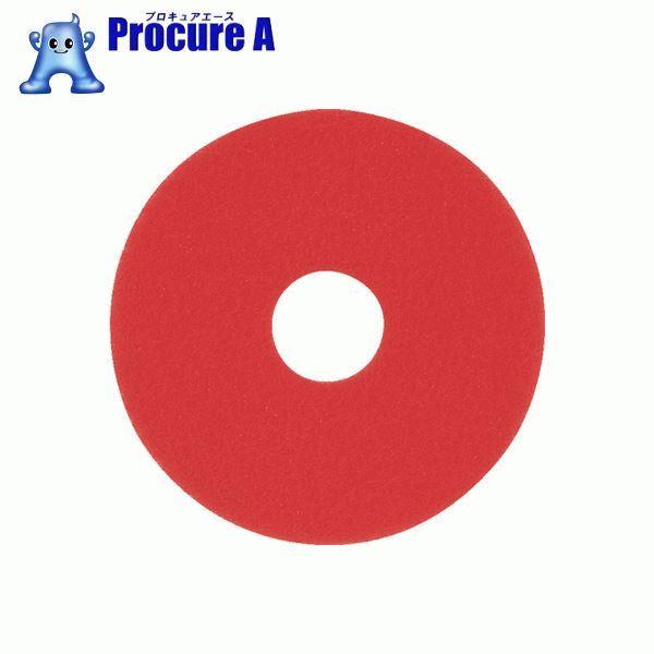 アマノ フロアパッド13 赤 HEC801500 5枚▼496-1552 アマノ(株)