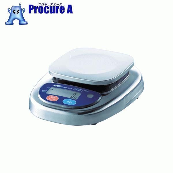 A&D 防塵防水デジタルはかり(検定付・1区) HL1000IWP-K-A1 ▼454-8655 (株)エー・アンド・デイ
