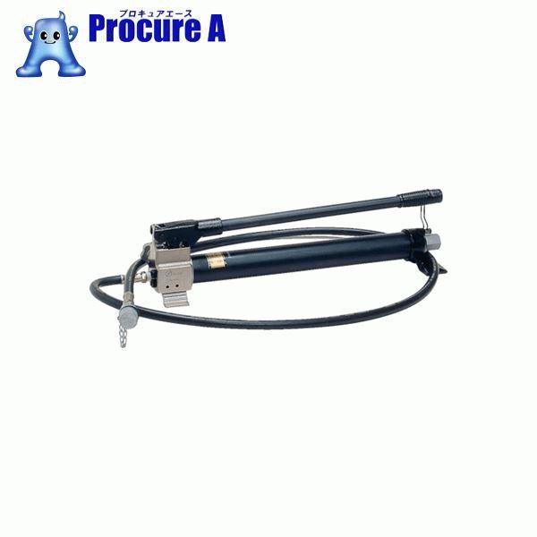 泉 手動式油圧ポンプホース2m付 HP700A ▼395-2258 (株)泉精器製作所
