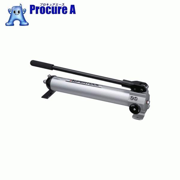 スーパー アルミ製手動油圧ポンプ HP500AN ▼837-0736 (株)スーパーツール