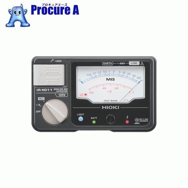 HIOKI メグオームハイテスタ 交流電圧(V)600 IR4012-10 ▼355-7456 日置電機(株)