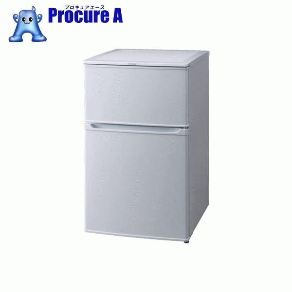 IRIS 567615冷蔵庫90L IRR-90TF-W ▼855-5438 アイリスオーヤマ(株)