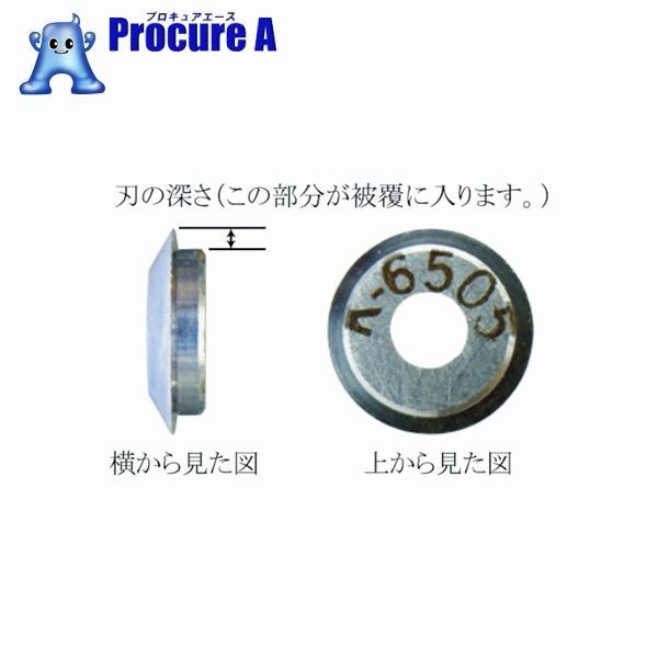 IDEAL リンガー 替刃 適合電線(mm):被覆厚0.08~ K-6491 ▼759-8637 東京アイデアル(株)