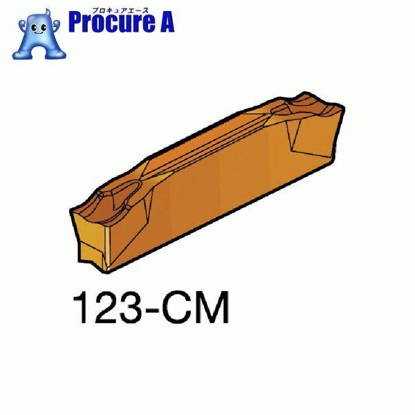 サンドビック コロカット2 突切り・溝入れチップ 1125 COAT L123H2-0400-0502-CM 1125 10個▼609-7375 サンドビック(株)コロマントカンパニー