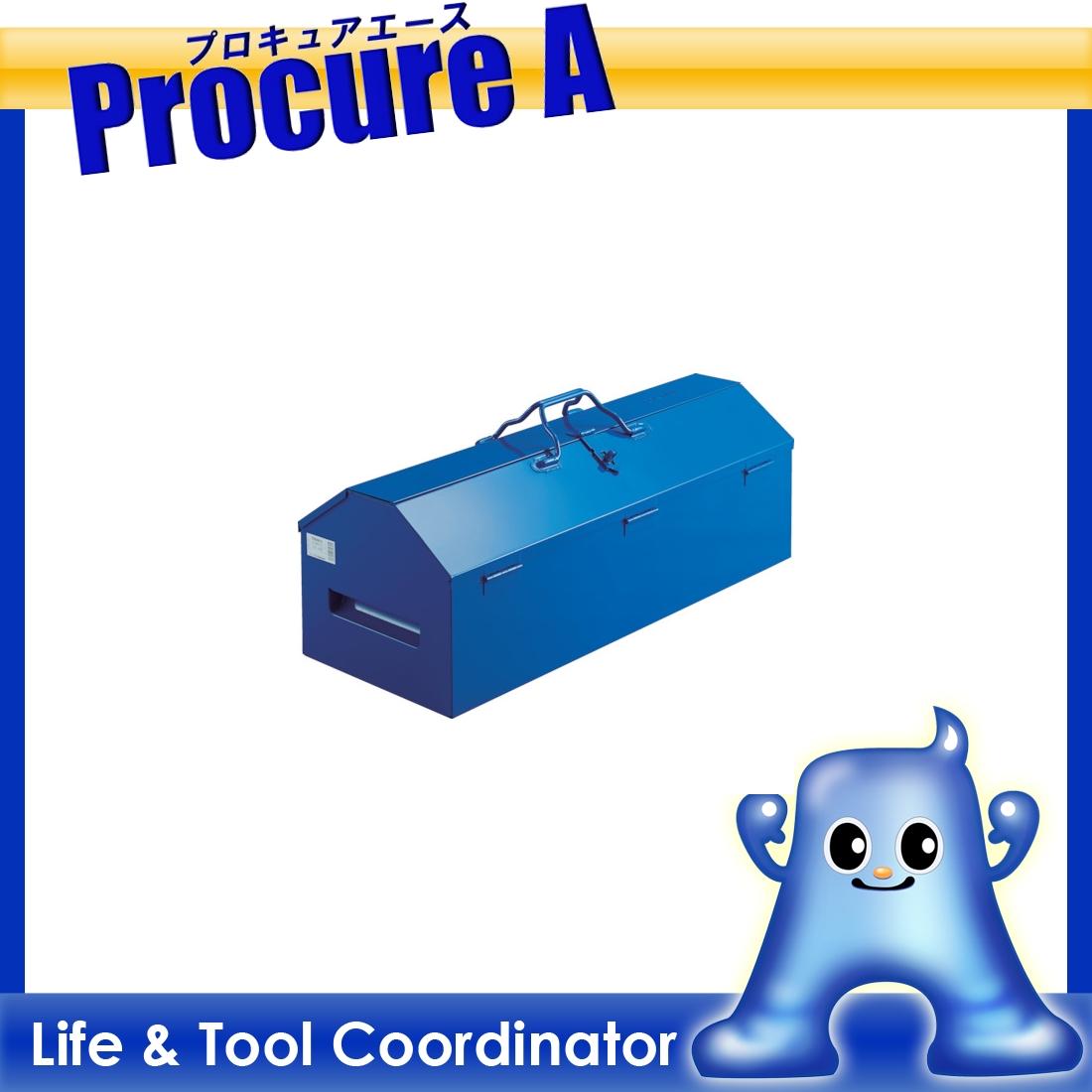 TRUSCO ジャンボ工具箱 720X280X326 ブルー LG-700-A ▼482-0355 トラスコ中山(株)