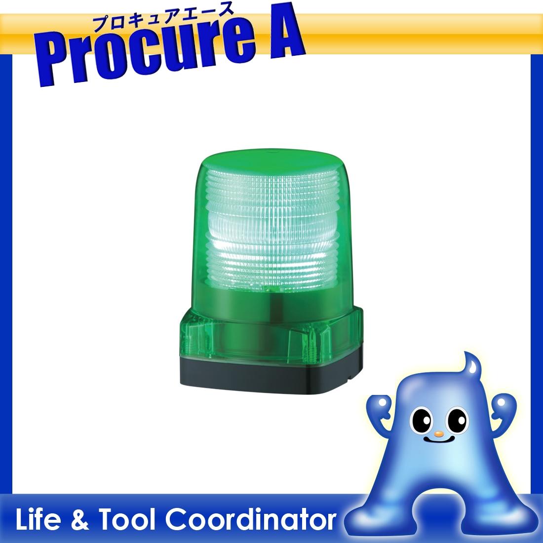 パトライト LEDフラッシュ表示灯 LFH-12-G ▼751-4484 (株)パトライト