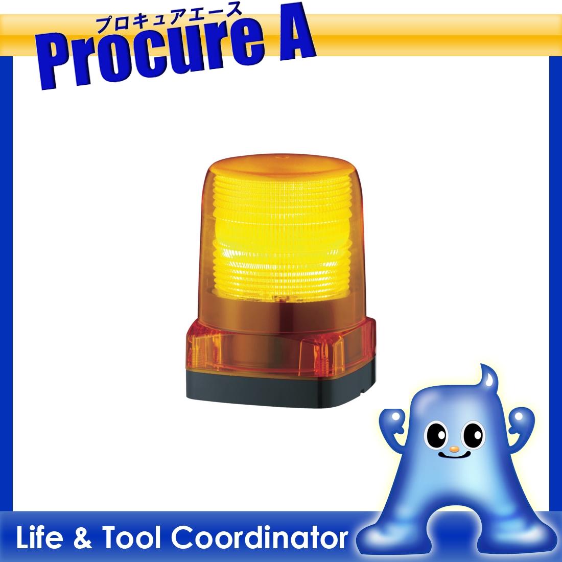 パトライト LEDフラッシュ表示灯 LFH-24-Y ▼751-4549 (株)パトライト