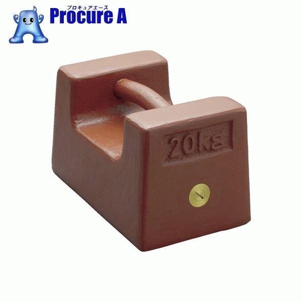 Pillow type weight 20 kg M2 grade M2RF-20K ▼ 392-4521 Shinko Denshi made of  ViBRA cast iron