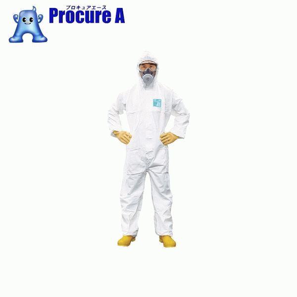 【あす楽】シゲマツ 使い捨て化学防護服 MG2000P L(10着入り) MG2000P-L ▼422-3691 (株)重松製作所