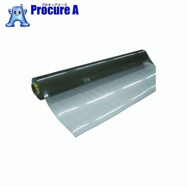 明和 3点機能付透明フィルム 75cm×10m×1mm厚 MGK-7510 ▼819-6046 明和グラビア(株)