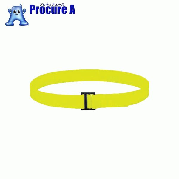 TRUSCO フリーマジック[[R下]]結束テープ片面蛍光イエロー50mm25m MKT50B-LY ▼856-0785 トラスコ中山(株)