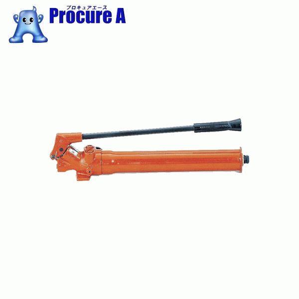 マサダ 手動油圧ポンプ 180CC MP4-S ▼395-6547 (株)マサダ製作所