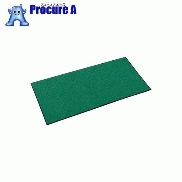テラモト エコレインマット900×1800mmグリーン MR-026-148-1 ▼368-5284 (株)テラモト