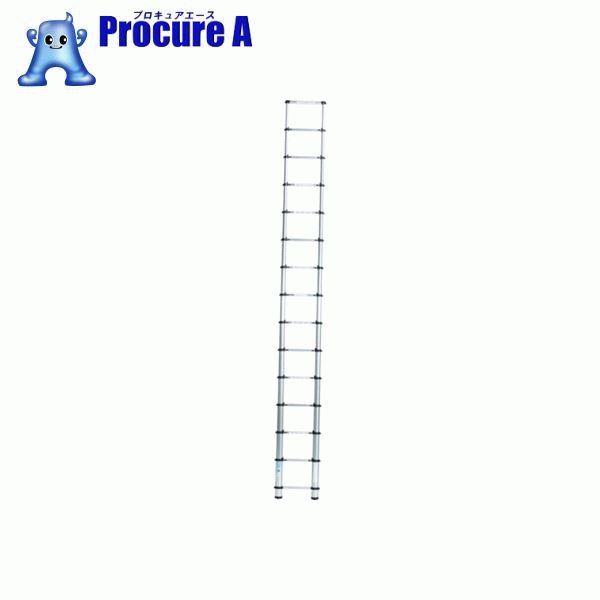アルインコ 伸縮式梯子 0.9~3.8m 最大使用質量100kg MSN38 ▼385-3713 アルインコ(株)住宅機器事業部