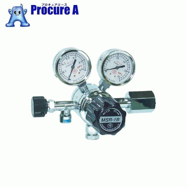 ヤマト 分析機用二段圧力調整器 MSR-1B MSR1B12TRC ▼434-4731 ヤマト産業(株)