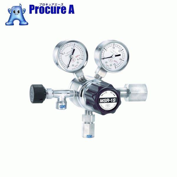 ヤマト 分析機用二段圧力調整器 MSR-1S MSR1S11TRC ▼434-4758 ヤマト産業(株)