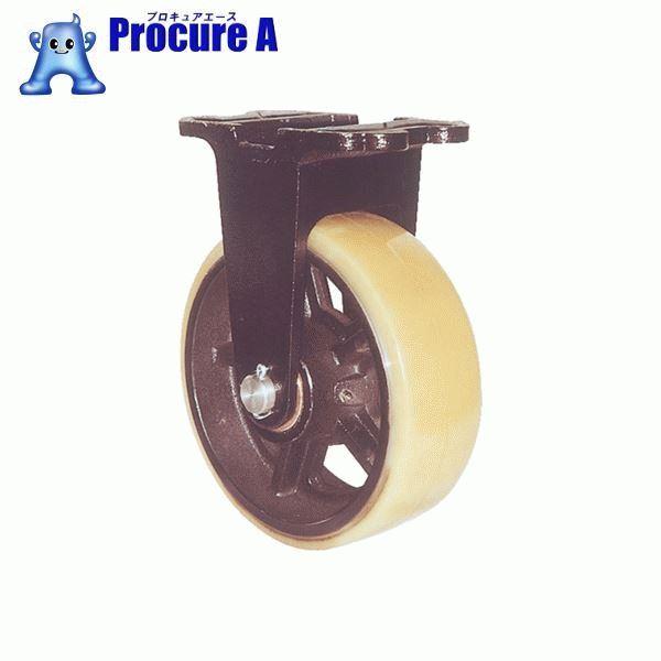 ヨドノ 鋳物重量用キャスター 許容荷重656.6 取付穴径13mm  MUHA-MK150X75 ▼305-3245 (株)ヨドノ