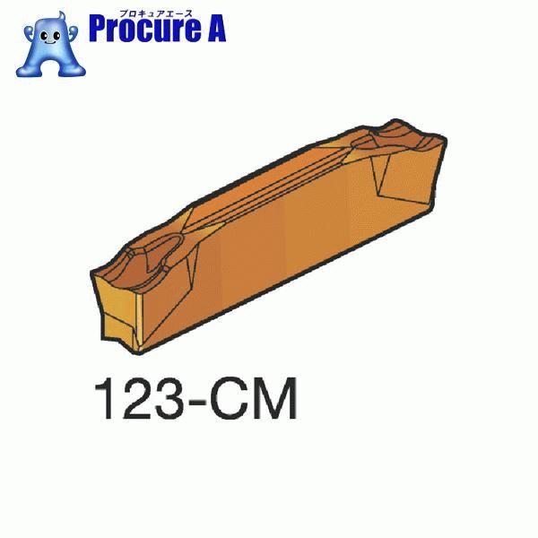 サンドビック コロカット2 突切り・溝入れチップ 1125 COAT N123H2-0400-0002-CM 1125 10個▼607-8681 サンドビック(株)コロマントカンパニー