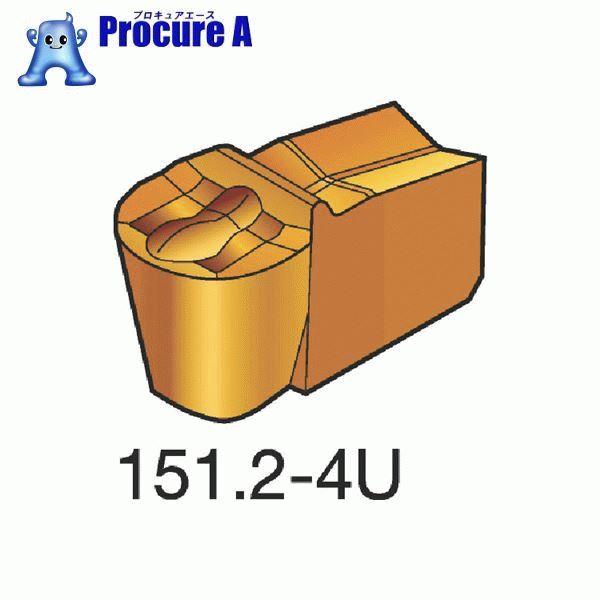 サンドビック T-Max Q-カット 突切り・溝入れチップ H13A N151.2-200-20-4U ▼173-3800 サンドビック(株)コロマントカンパニー