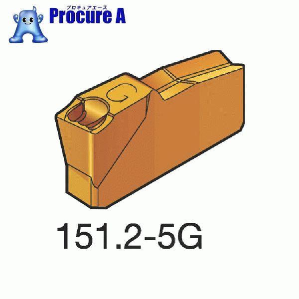 サンドビック T-Max Q-カット 突切り・溝入れチップ 4225 COAT N151.2-400-40-5G 4225 10個▼334-6064 サンドビック(株)コロマントカンパニー