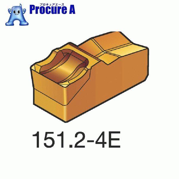 サンドビック T-Max Q-カット 突切り・溝入れチップ 1145 COAT N151.2-800-4E 1145 10個▼362-6822 サンドビック(株)コロマントカンパニー