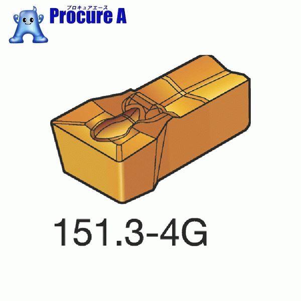 サンドビック T-Max Q-カット 突切り・溝入れチップ 1145 COAT N151.3-400-40-4G 1145 10個▼362-6938 サンドビック(株)コロマントカンパニー
