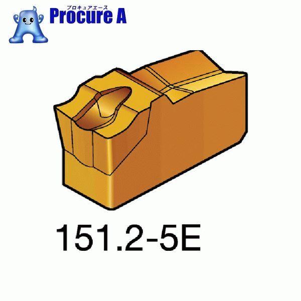 サンドビック T-Max Q-カット 突切り・溝入れチップ 1125 N151.2-600-5E ▼572-5160 サンドビック(株)コロマントカンパニー