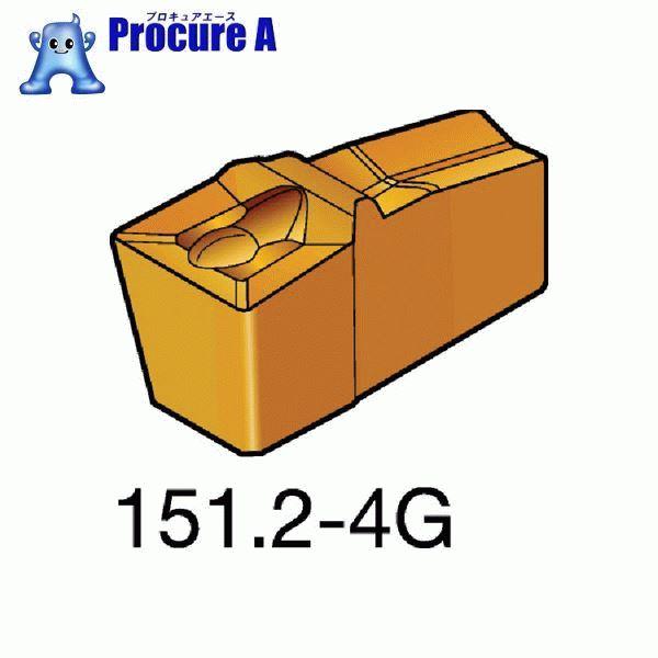 サンドビック T-Max Q-カット 突切り・溝入れチップ H13A 超硬 N151.3-300-30-4G H13A 10個▼572-6573 サンドビック(株)コロマントカンパニー