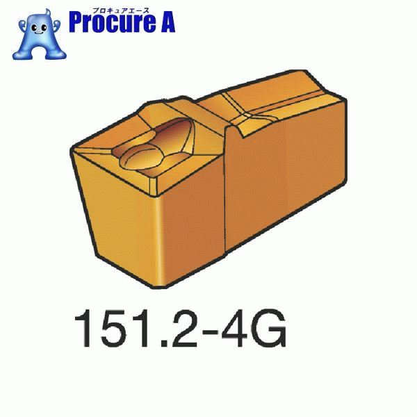 サンドビック T-Max Q-カット 突切り・溝入れチップ 1125 COAT N151.2-300-25-4G 1125 10個▼606-9916 サンドビック(株)コロマントカンパニー