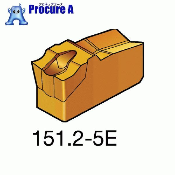 サンドビック T-Max Q-カット 突切り・溝入れチップ 525 CMT N151.2-200-5E 525 10個▼609-8690 サンドビック(株)コロマントカンパニー