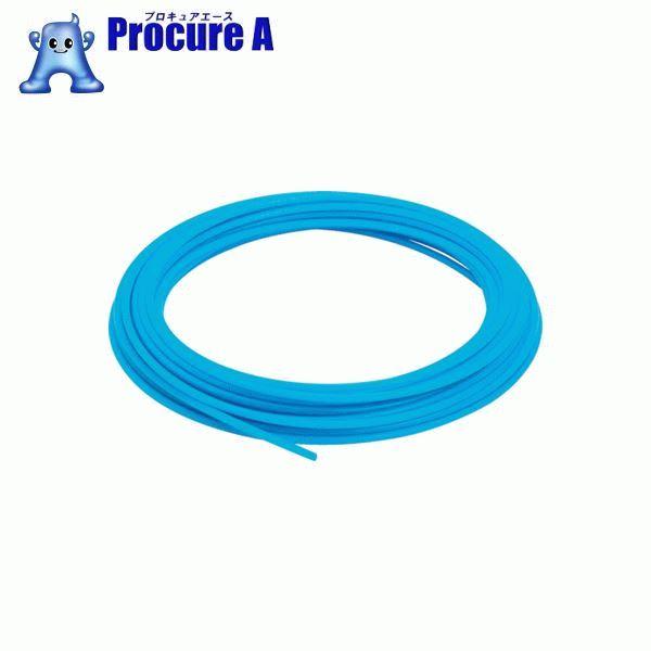 ピスコ ソフトナイロンチューブ ブルー 8×6 100M NB0860-100-BU ▼818-1487 (株)日本ピスコ