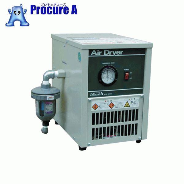 日本精器 冷凍式エアドライヤ5HP NH-8012N ▼484-0895 日本精器(株)