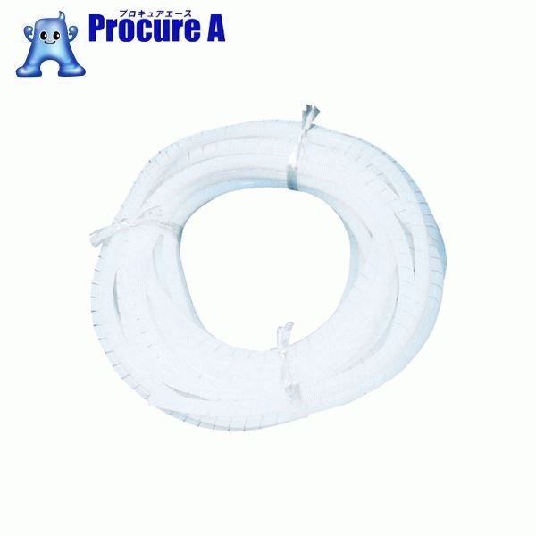 フロンケミカル フッ素樹脂(PTFE)スパイラルチューブ 8φ×10φ×10m NR0514-003 ▼391-6014 (株)フロンケミカル