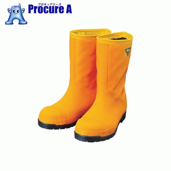 SHIBATA 冷蔵庫用長靴-40℃ NR031 25.0 オレンジ NR031-25.0 ▼819-0394 シバタ工業(株)